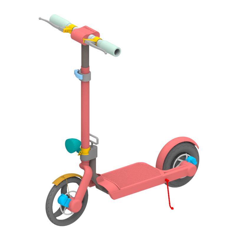 羽月电动滑板车