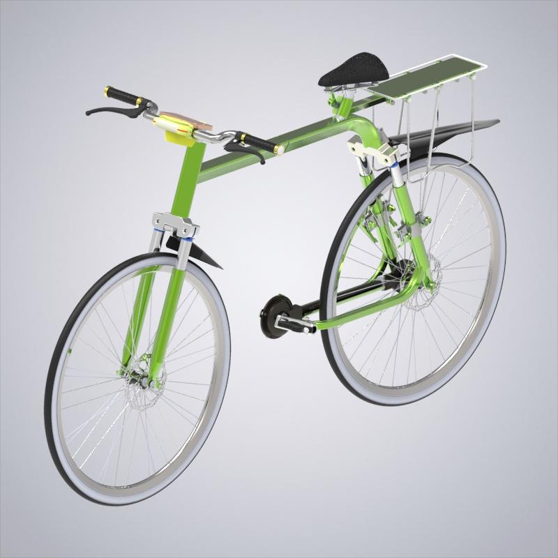智能宿营单车