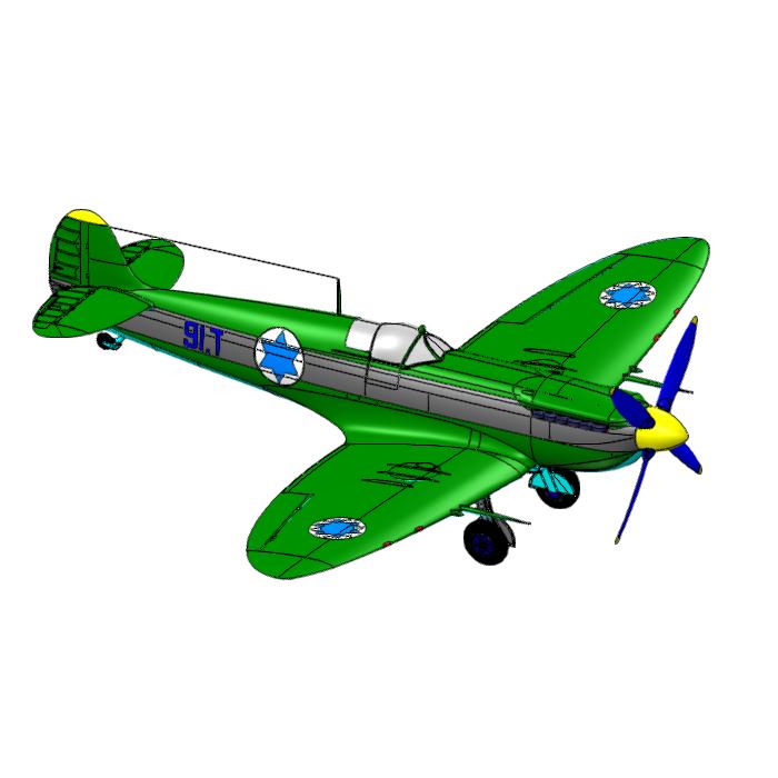 _二战英国喷火战斗机