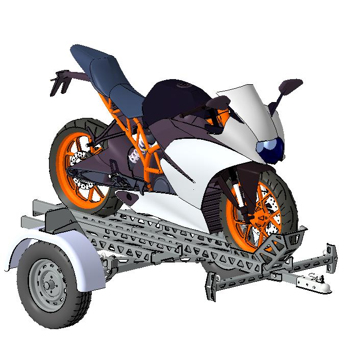 _摩托车拖车