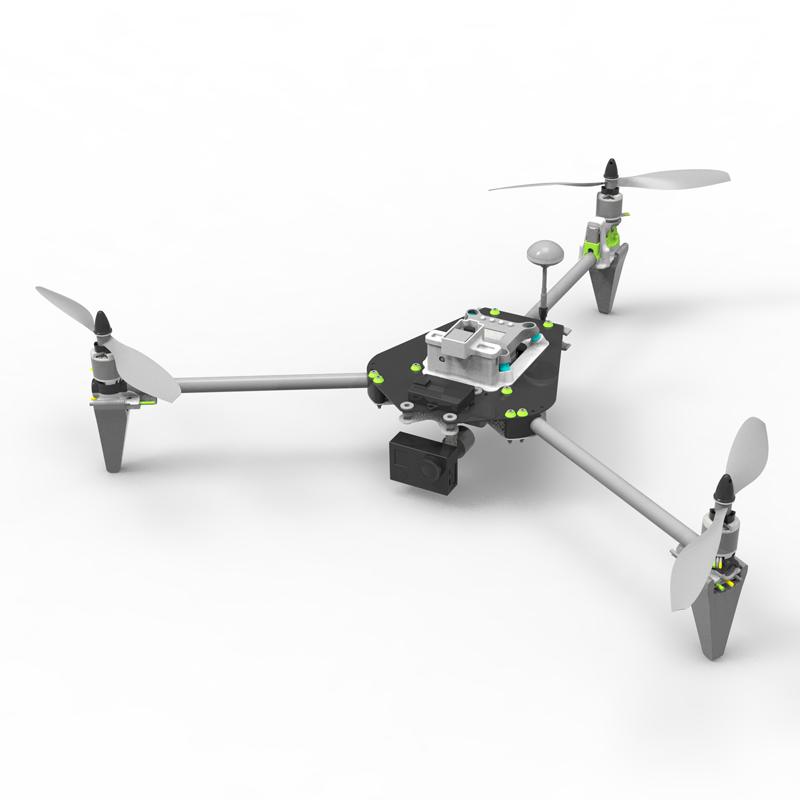 _Three axis rotor UAV