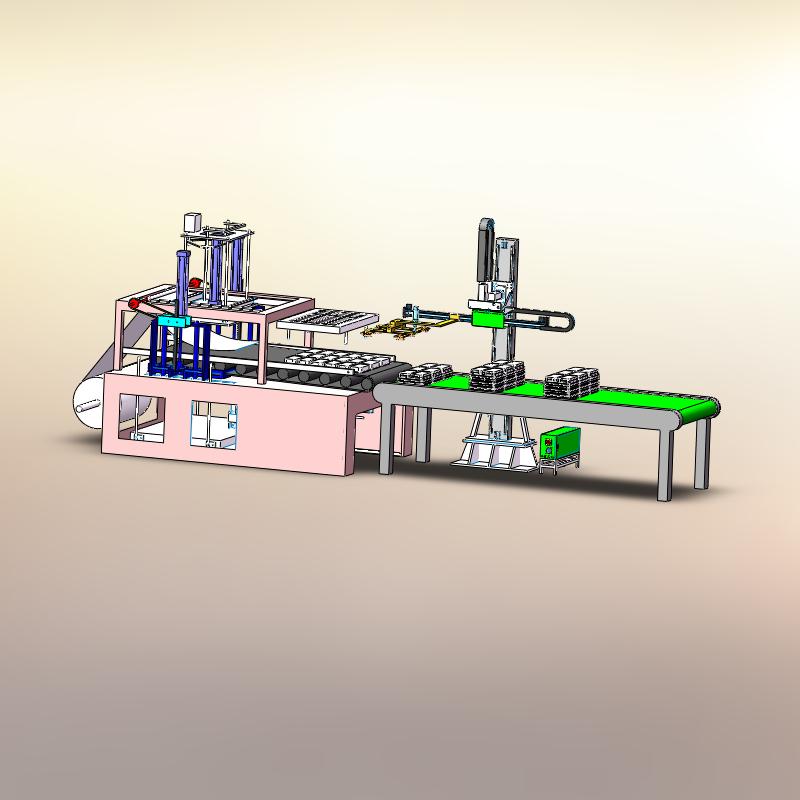 吸塑件自动堆叠机