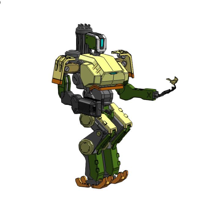 _守望先锋_堡垒机器人