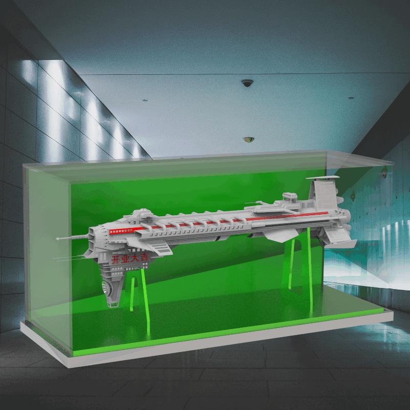 太空飞船的航模摆件