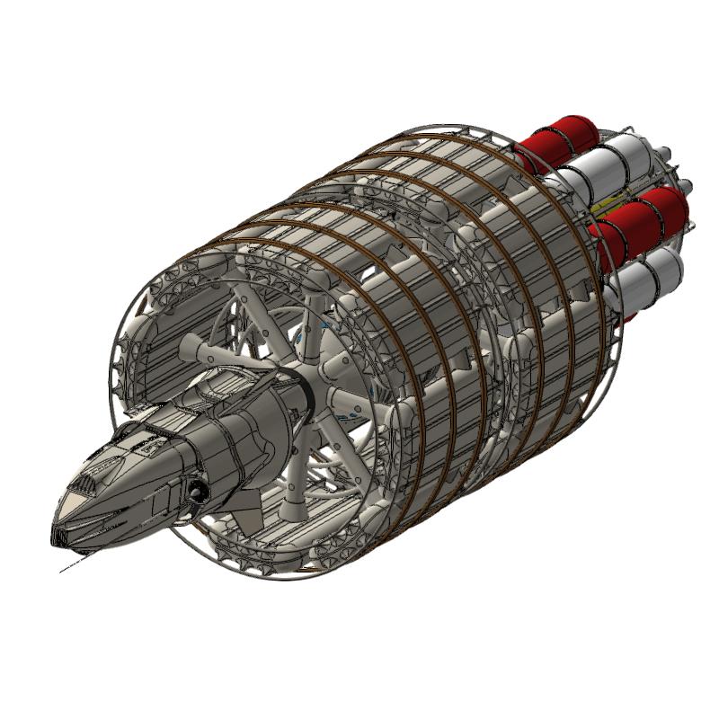 太空飞船模型