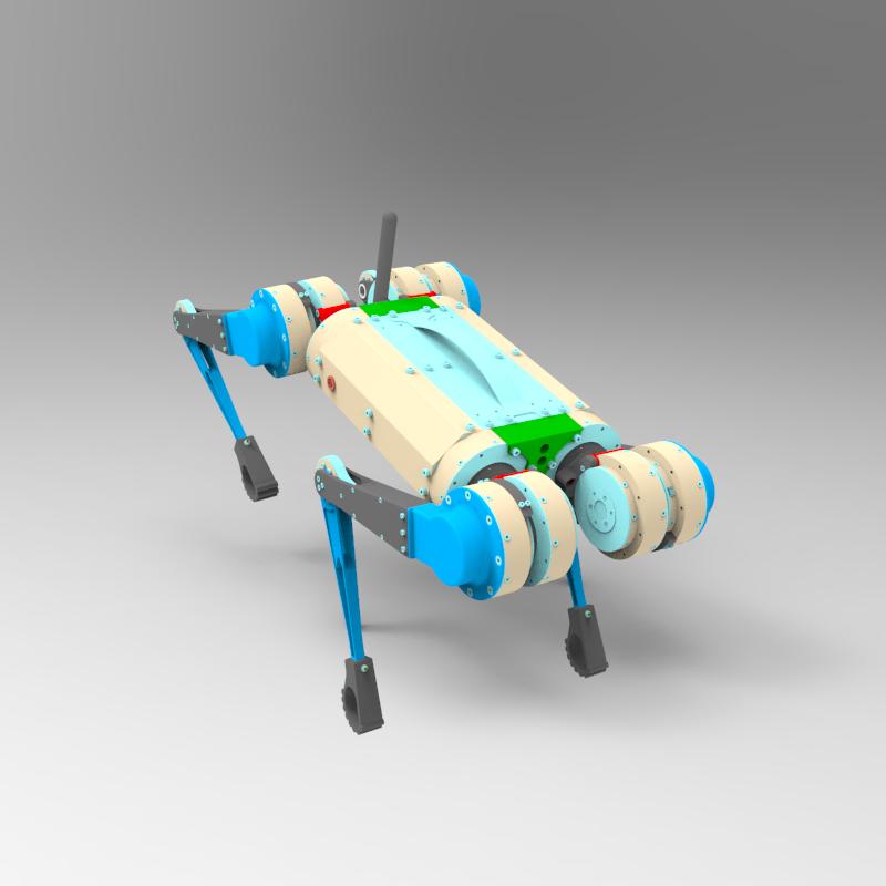 猎豹机器人设计模型