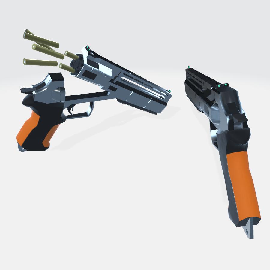 AX左轮手枪