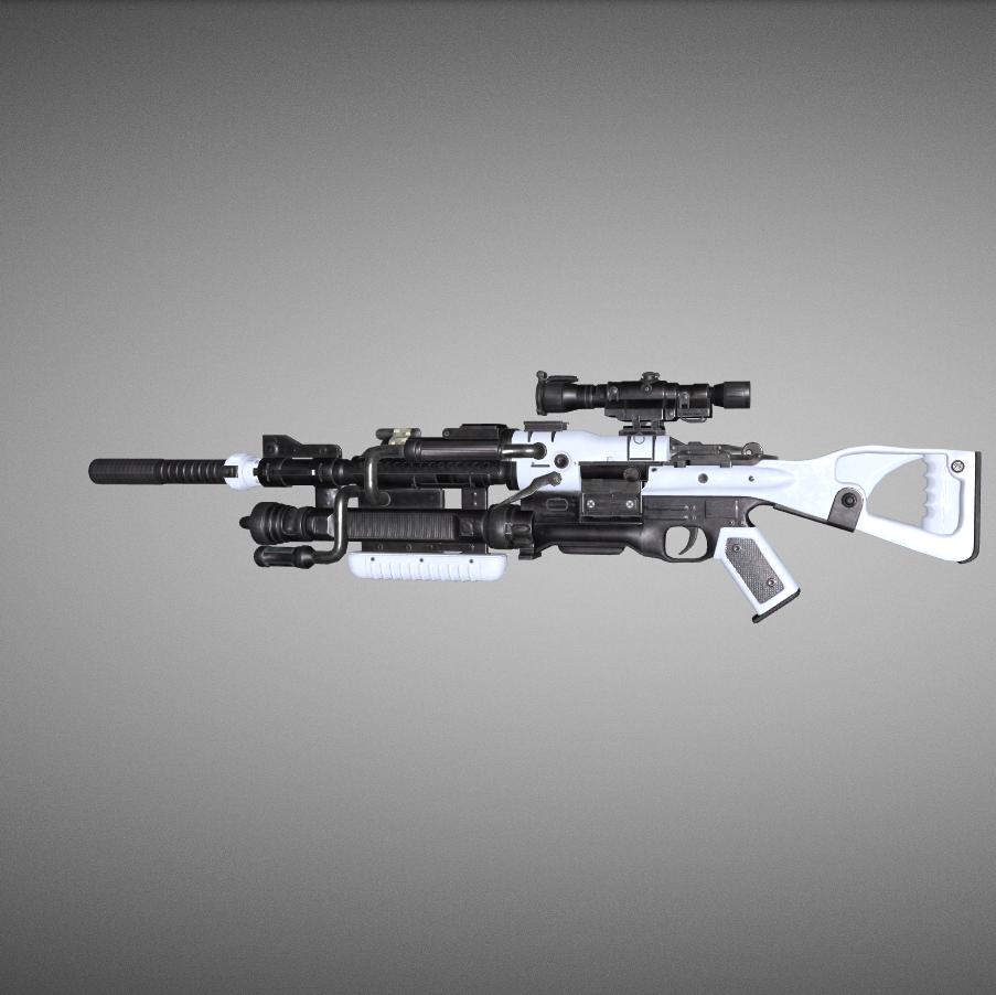 科幻游戏狙击步枪