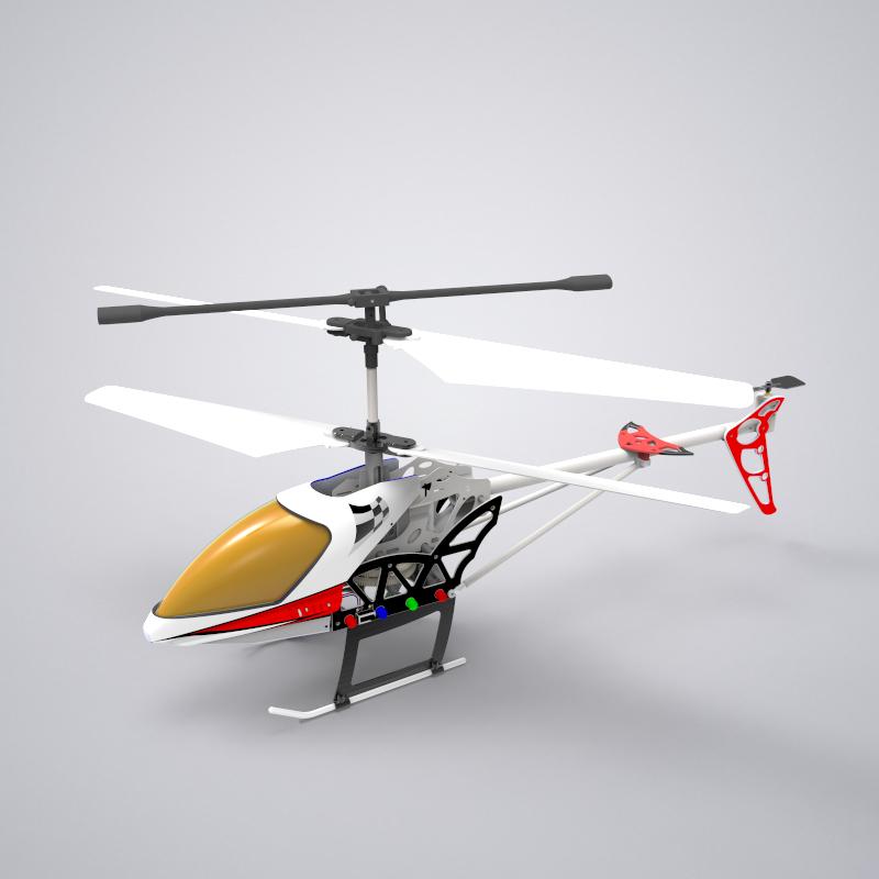 小微型遥控直升机设计