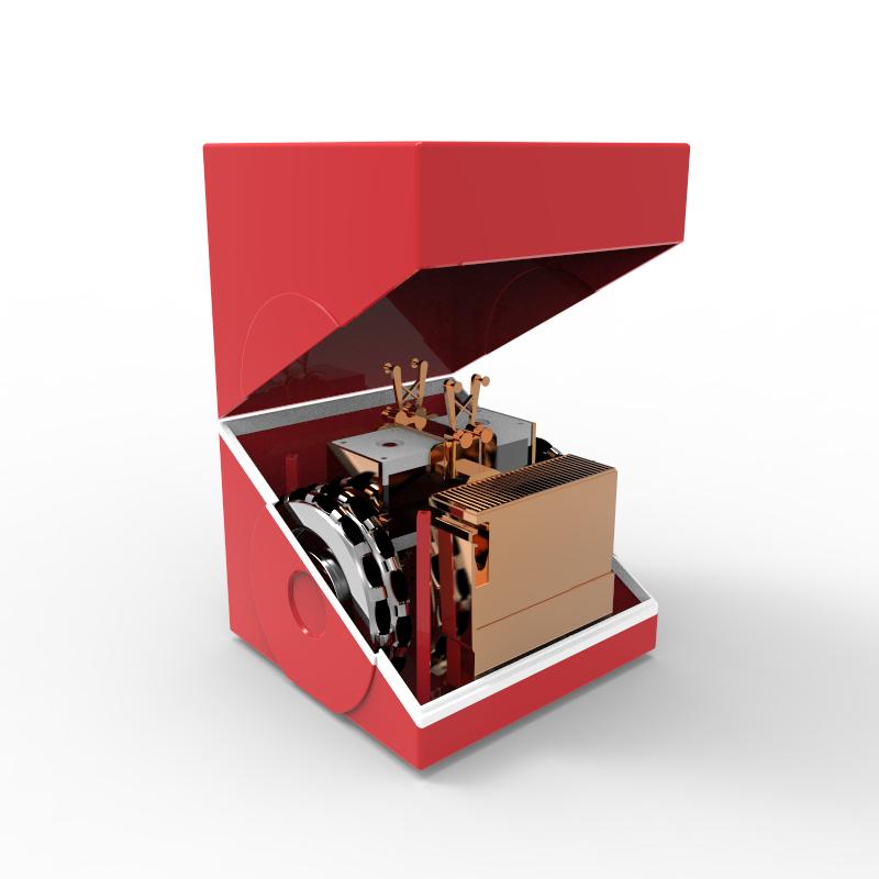 便携式自移动打印机