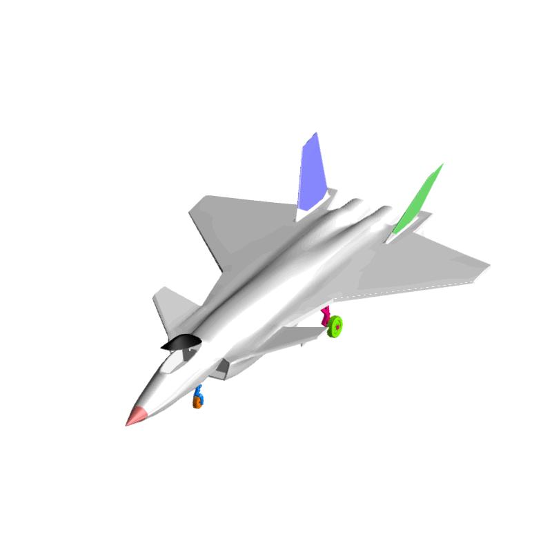 20歼击机机体逆向创新设计与3D打印