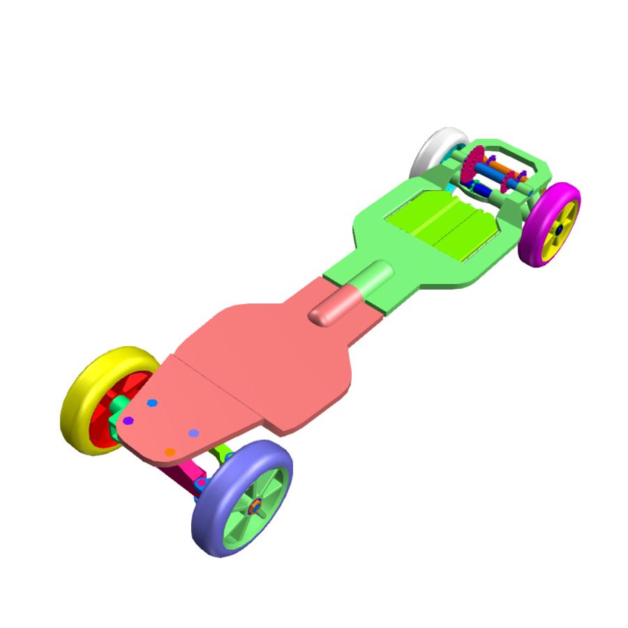 机械动力滑板
