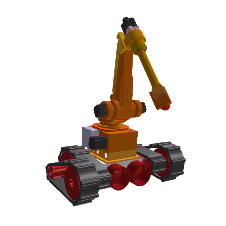 可移动六轴机器人