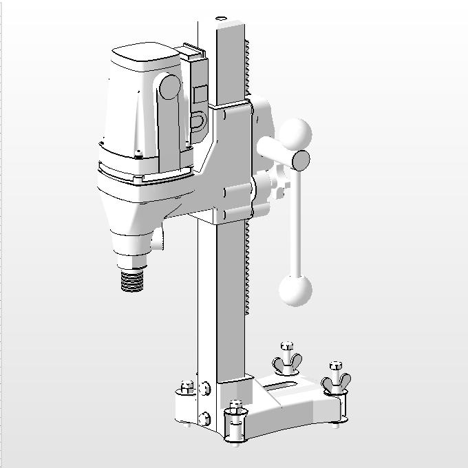 水泥钻孔机