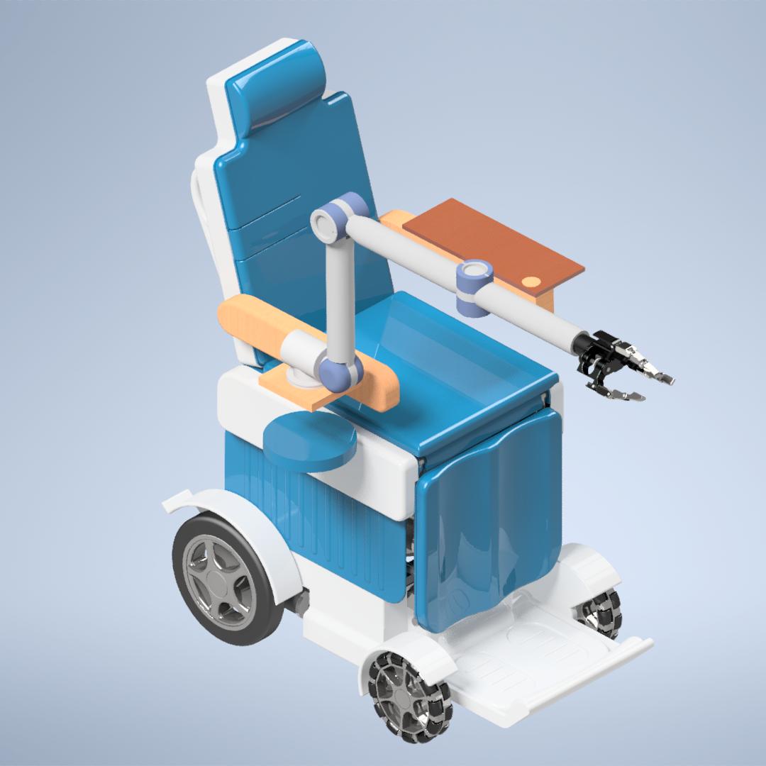 智能看护轮椅