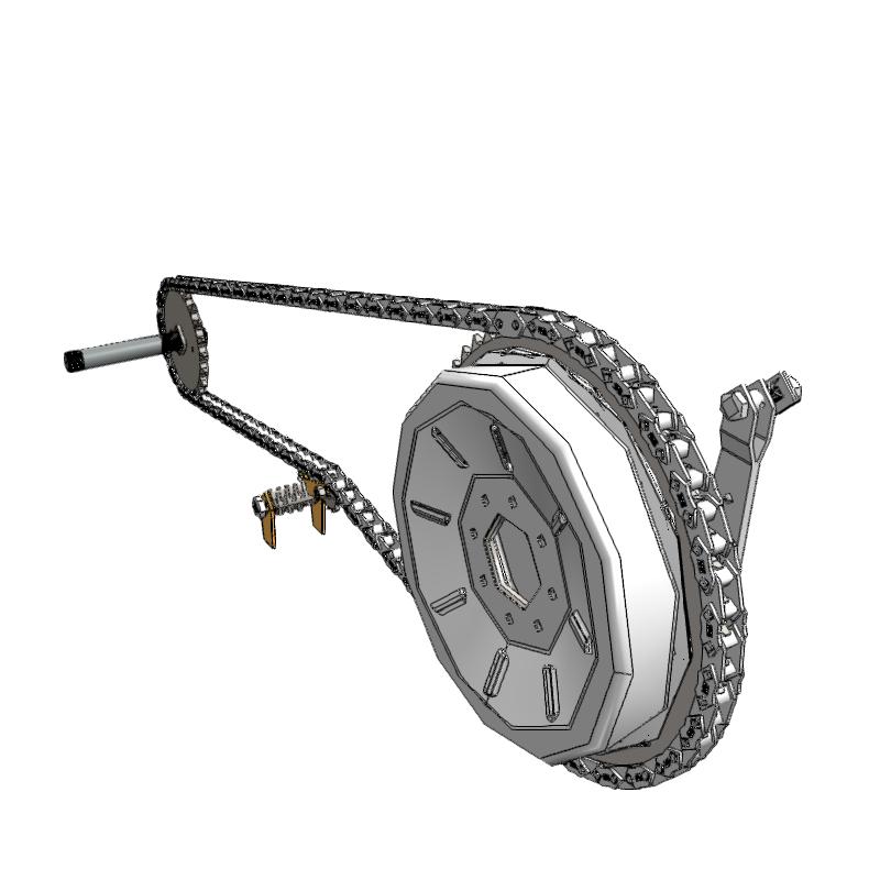 3d链条和链轮