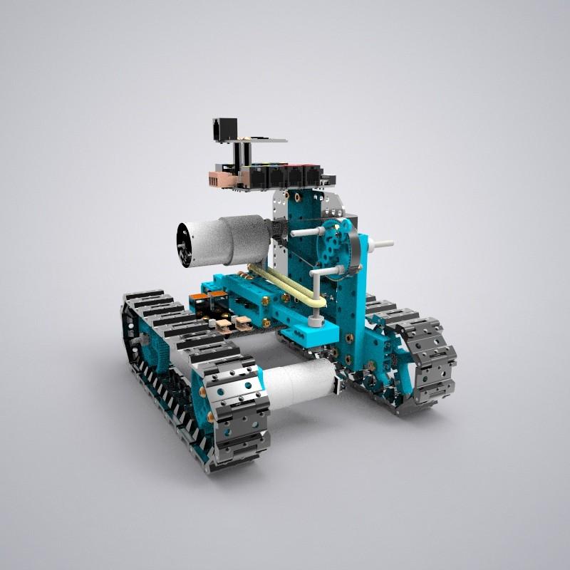 坦克链机器人