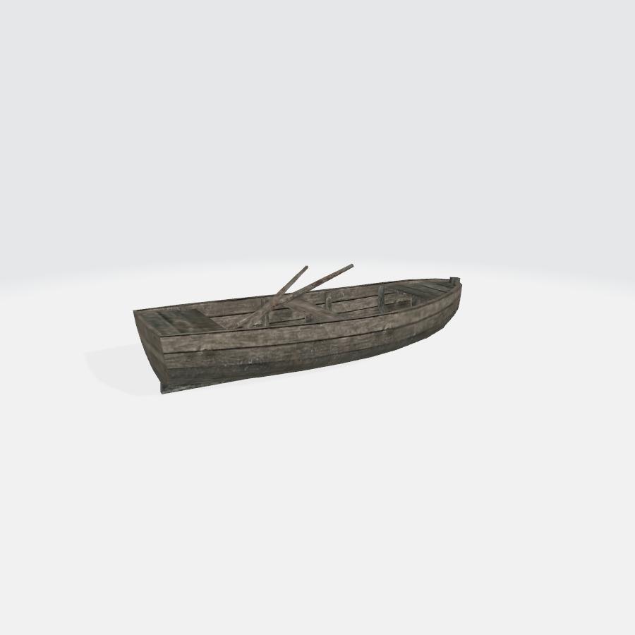小木船01