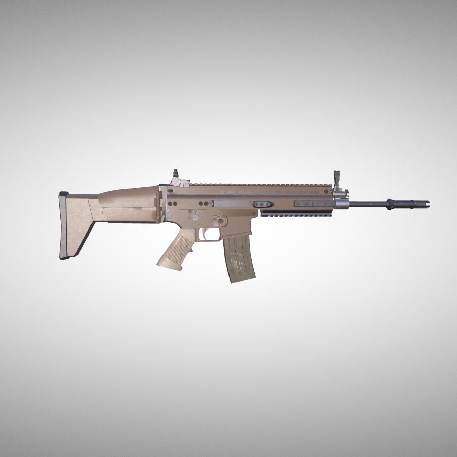 FN赫斯塔尔SCAR-H突击步枪