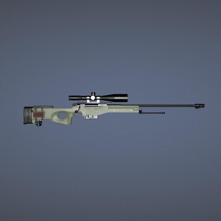 L96A1阻击步枪