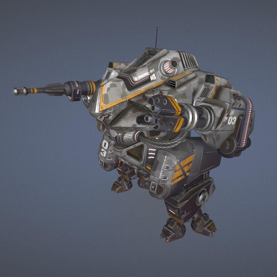 Military战争机器人