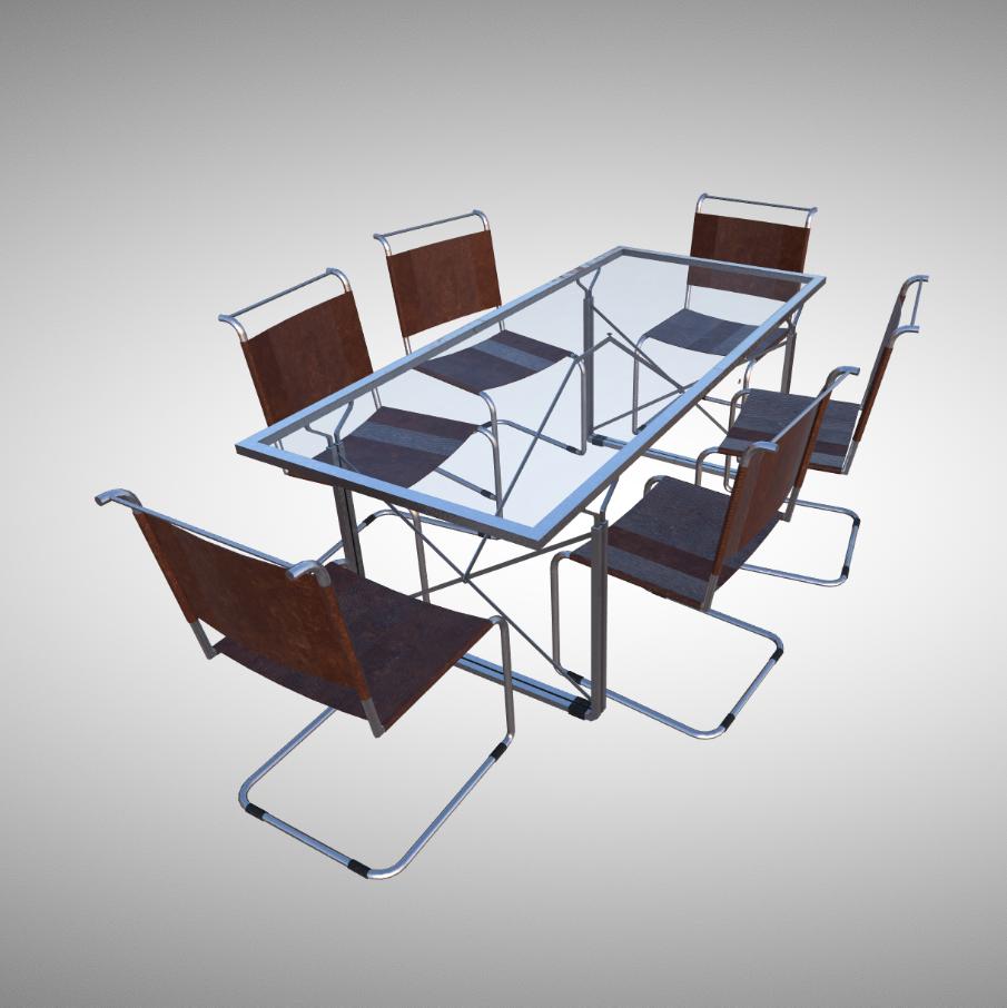 现代主义餐桌设计