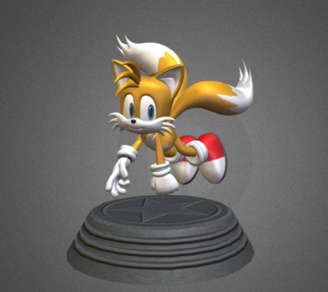 刺猬索尼克——狐狸Tails