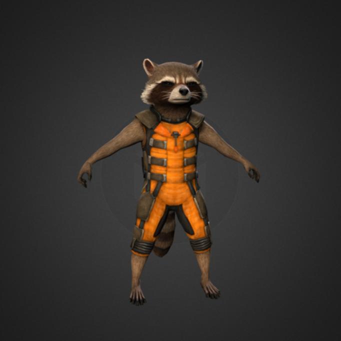 复仇者联盟-火箭浣熊