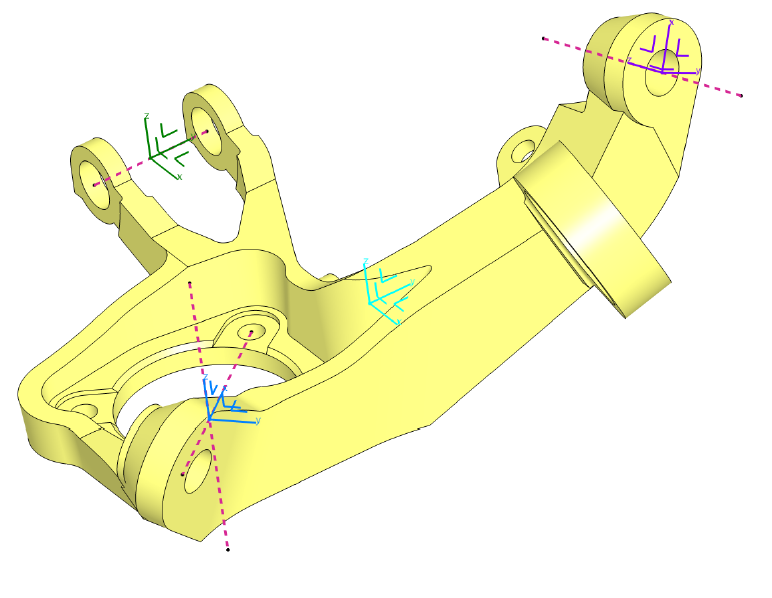 坐标系案例(教学课程、3D数模、精讲PPT)
