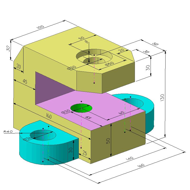 基础建模案例(教学课程、3D数模、精讲PPT)