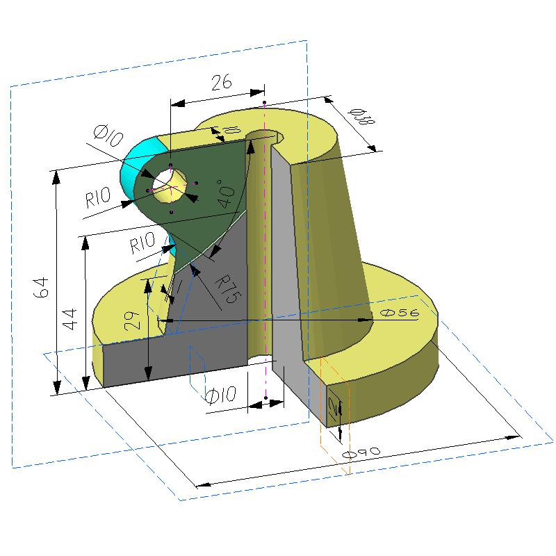 回转体建模案例(教学课程、3D数模、精讲PPT)
