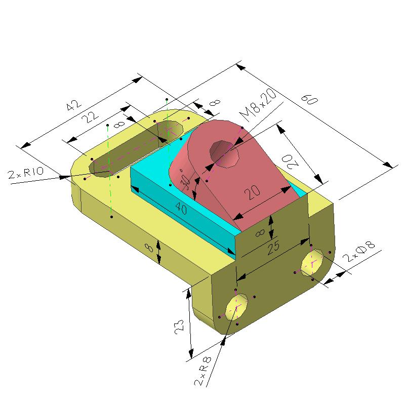 斜面建模案例(教学课程、3D数模、精讲PPT)