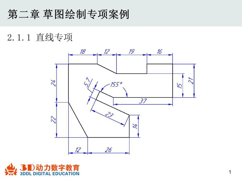 直线专项案例(教学课程、3D数模、精讲PPT)