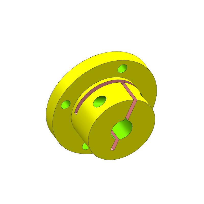 圆形法兰案例(教学课程、3D数模、精讲PPT)