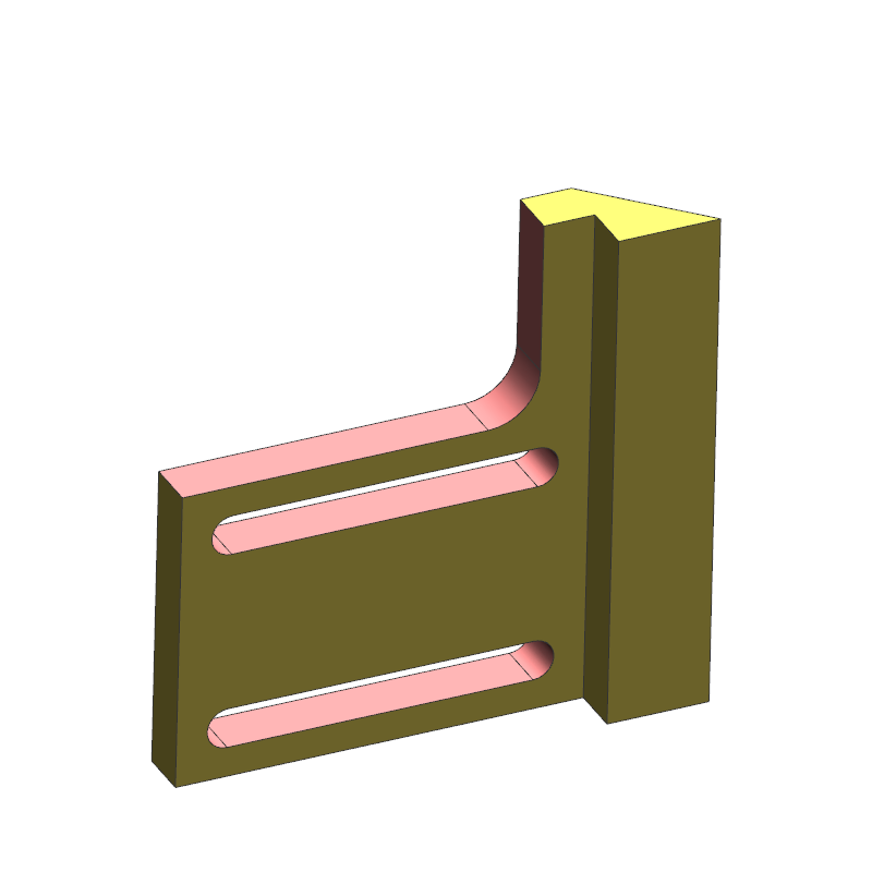 侧面挡块案例(教学课程、3D数模、精讲课程PPT、工程图)