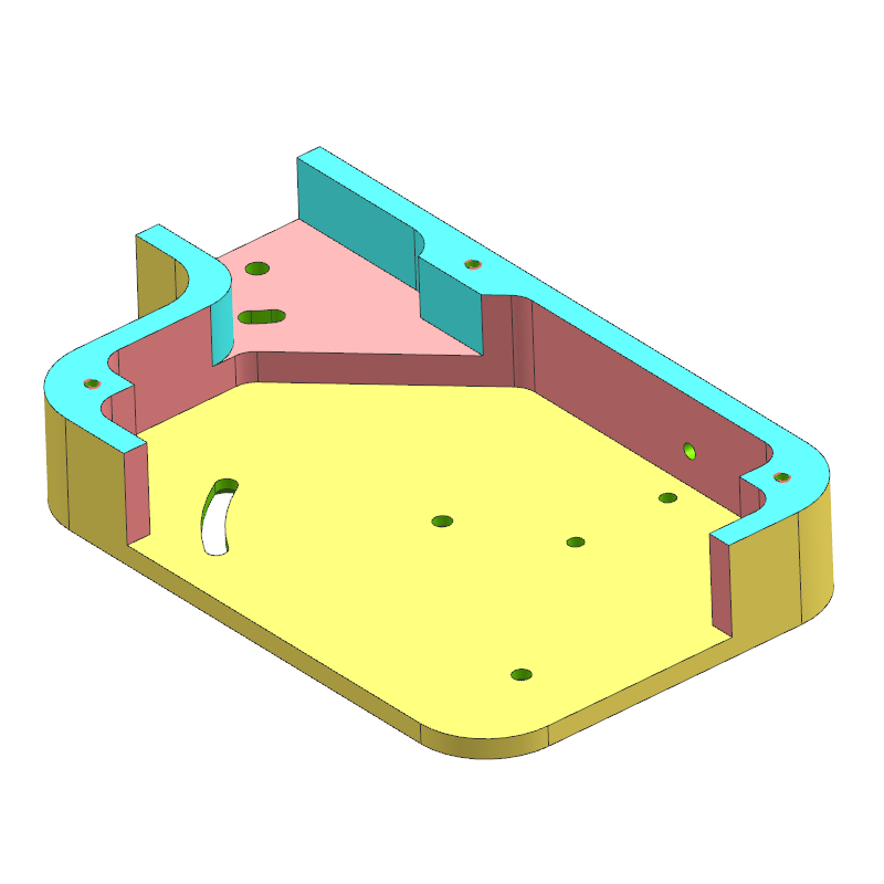 底板案例(教学课程、3D数模、精讲课程PPT、工程图)