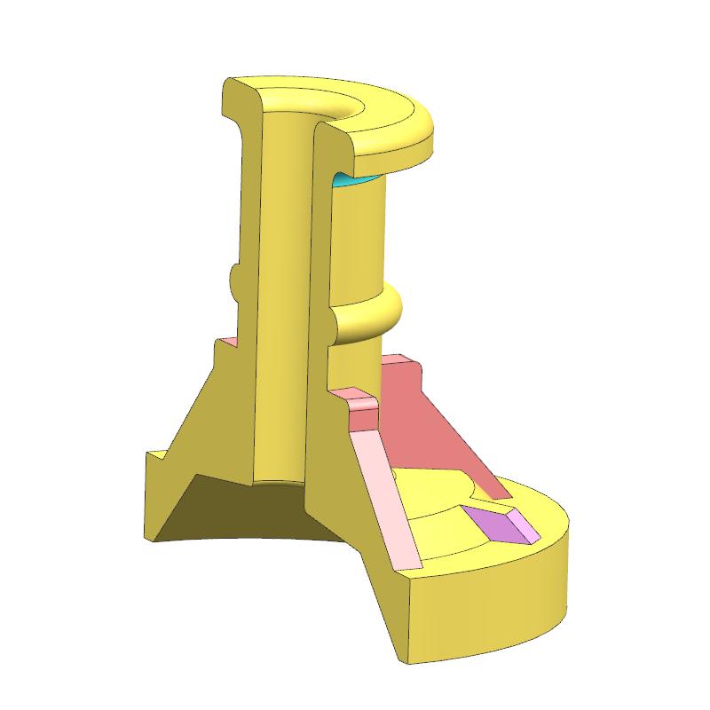 铜罩案例(教学课程、3D数模、精讲PPT、工程图)