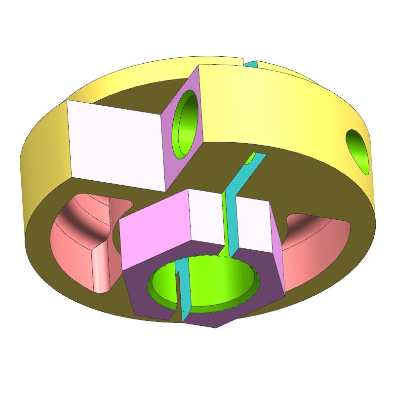 止挡案例(教学课程、3D数模、精讲PPT、工程图)