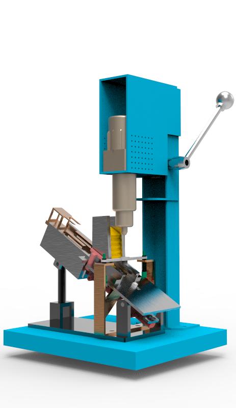 机电一体气动装配教学平台