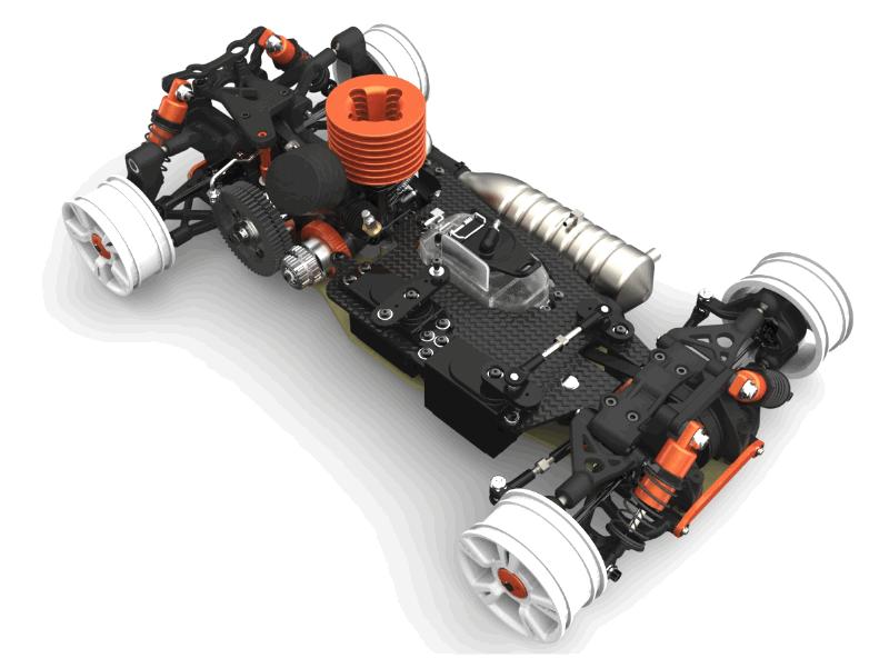 燃油模型汽车