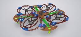 五旋翼飞行器