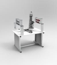 多控制模块化可拆装直角坐标机器人