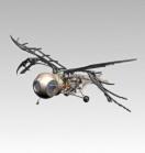 新型扑翼式仿生侦擦鸟